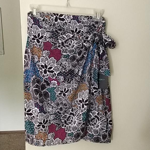 0fc1c2de2 Cynthia Rowley Skirts | Nwt Wrap Skirt | Poshmark